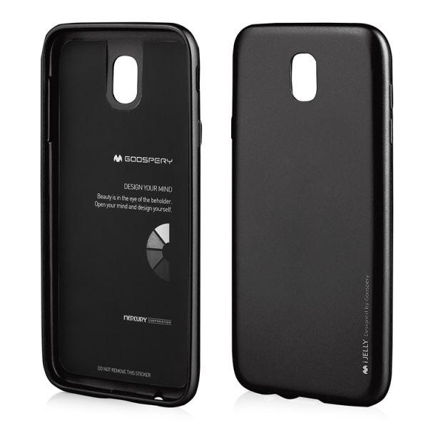 Schutzhülle i-JELLY für Samsung Galaxy J7, schwarz